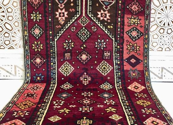 Vintage Antep Kurdish Prayer Rug