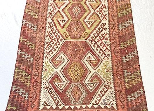 Vintage Konya Hotamis Kilim - Turkey