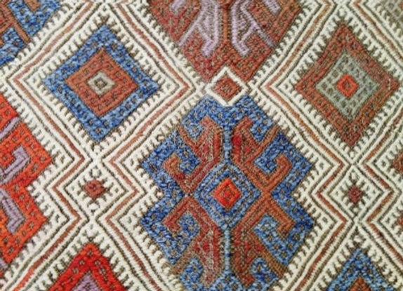 Antique Konya Cicim Kilim - Turkey