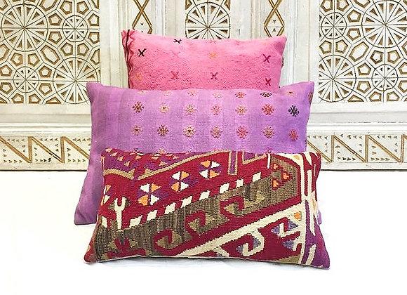 Vintage Turkish Boho Pillow                                              50x30cm