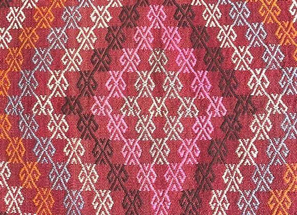Vintage Nomadic Konya Cicim - A Dash of Pink !