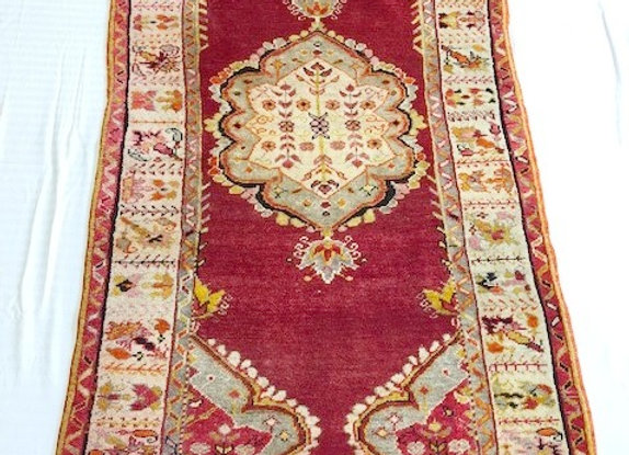 Vintage Denizli Cal Carpet