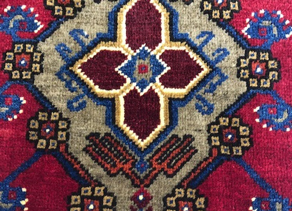 Vintage Taspinar Village Rug / Turkey - Handmade