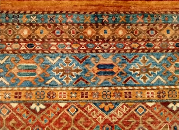 Contemporary Rug Collection - Turkish Cuval Tribal design