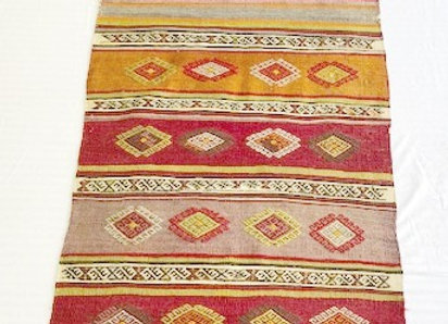 Vintage Sivas Kilim Runner - unique !