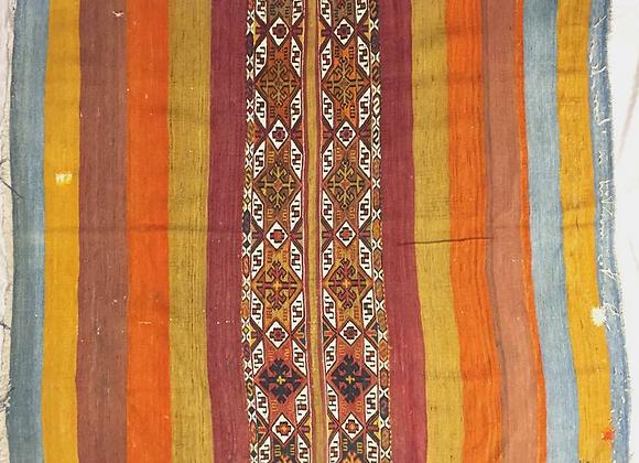 Vintage Nomadic Cuval Kilim