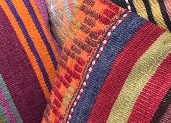 Vintage Kilim Pillow - Nomad stripe