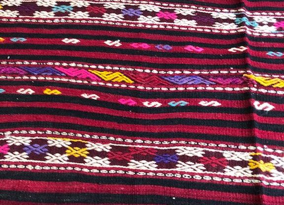 Boho Stripe       -Vintage Kilim