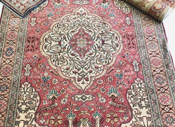 Vintage Kayseri Carpet - Soft Rose