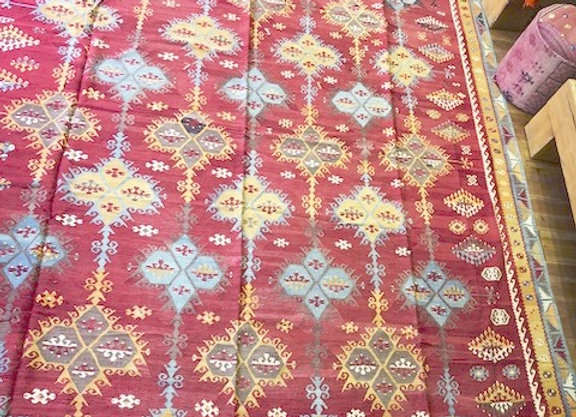 Antique Sivas large Kilim -100+ yrs  Perfect condition