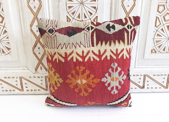 Vintage Kilim Pillow -Fine Anatolian