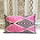 Thumbnail: Handwoven IKAT Pillow                                             Pompom details