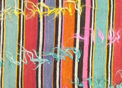 Vintage Turkish Kilim - Nomadic stripe