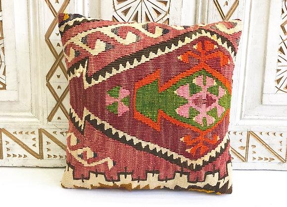 Vintage Kilim Pillow - 40x40cm