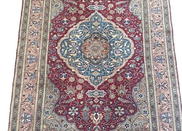 Vintage Kayseri Medallion Carpet