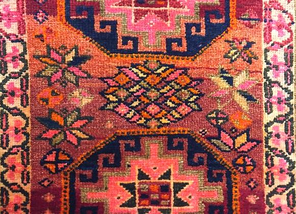 Vintage Kurdish Dowry Rug