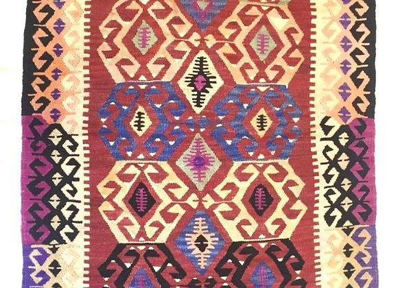 Vintage Afyon Kilim