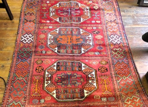 Vintage Nomadic Wide Hall Runner - Turkey
