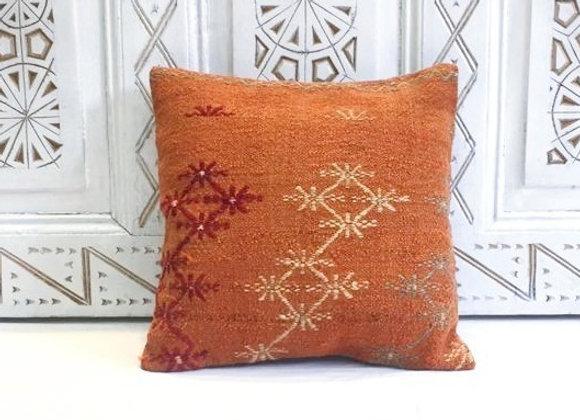 Turkish Kilim Throw Pillow                                              40x40 cm