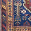 Thumbnail: Antique Tribal Afsar Carpet