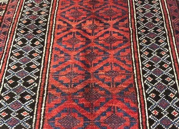Vintage Beluch Tribal Rug