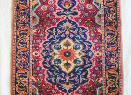 Vintage Kayseri Yastik Rug - Turkey