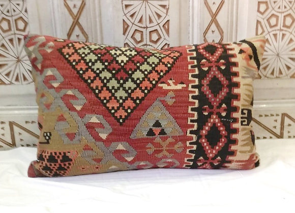 Vintage Kilim Pillow - Large           65x43cm    Anatolian Earth 2