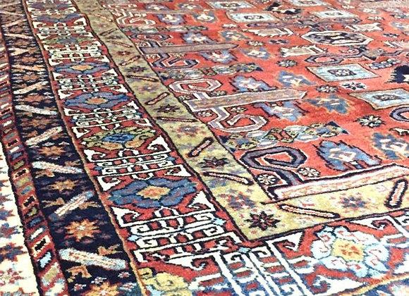 Vintage Caucasian Shirvan Carpet