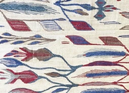 Usak 'Wheat Design' Kilim