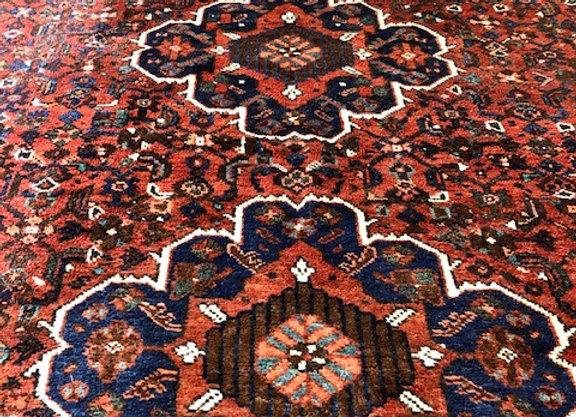 Vintage Tribal Shiraz Carpet