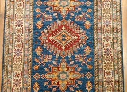 New Shirvan Design Rug - Light Blue Floral