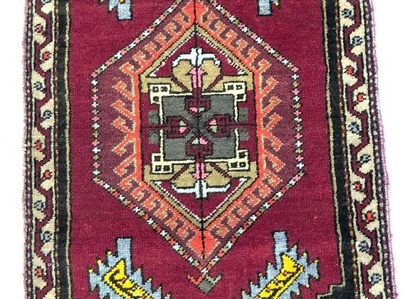 Vintage Sivas Dowry Rug