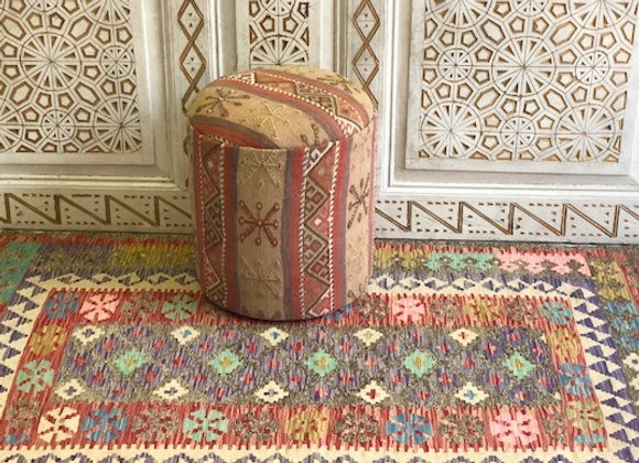 Usak Multi Color Pastel Kilim