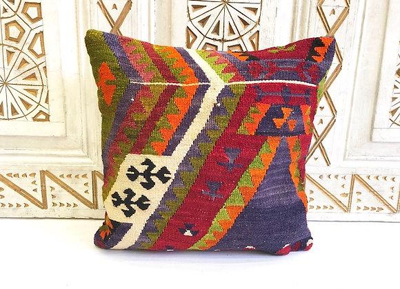 Vintage Kilim Pillow -40x40cm