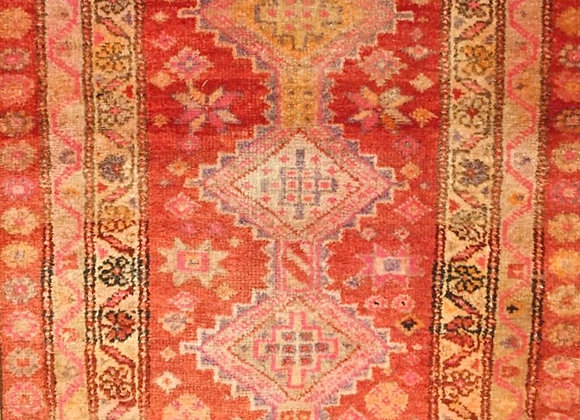 Vintage Herki Kurd Rug