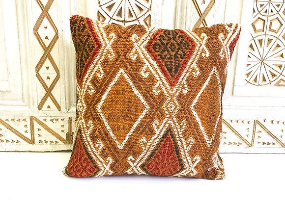 Vintage Kilim Pillow -Boho 40x40cm