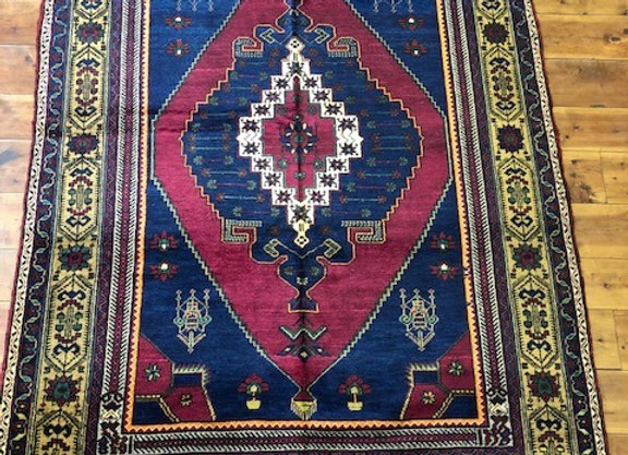 Vintage Taspinar Village Rug / Turkey