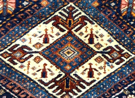 Vintage Kurdish Tent floor Rug - Perfect condition !
