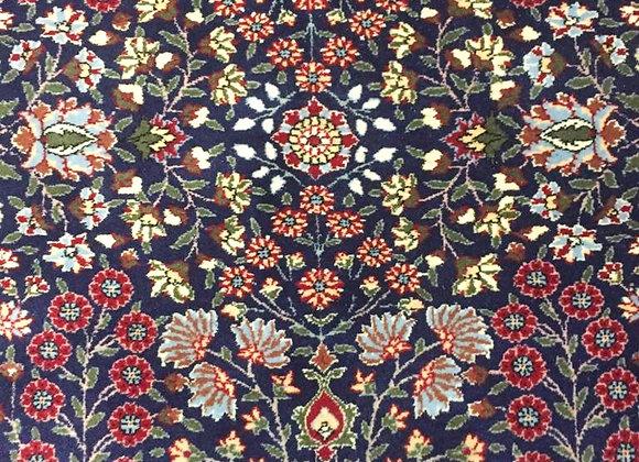 Hereke Palace Carpet - Navy Blue