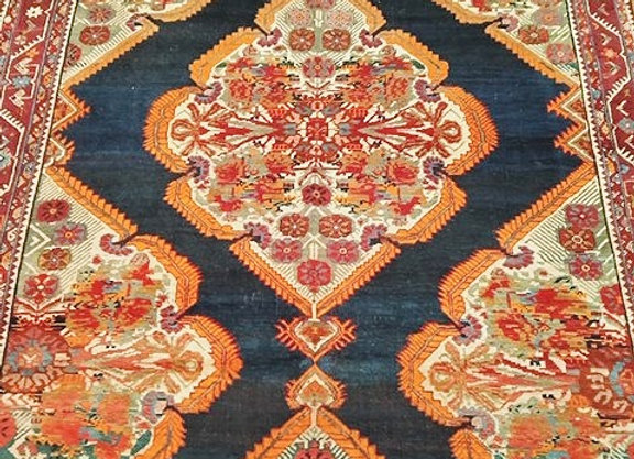 Vintage Karabagh Carpet - signed and dated by the weaver 1908'