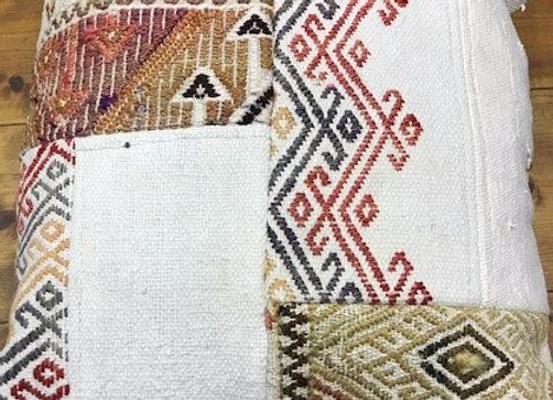 Vintage Kilim Patchwork Cushion