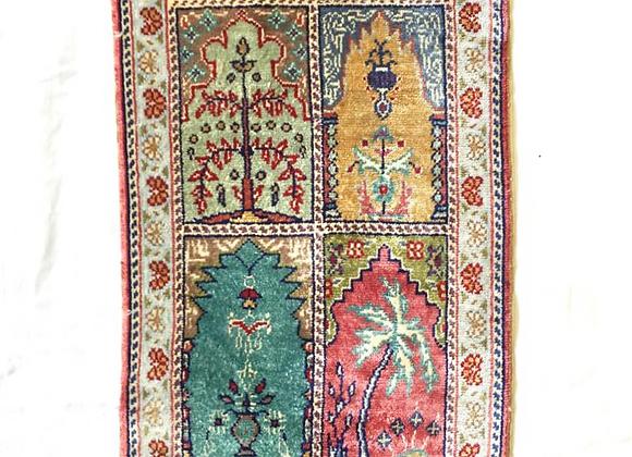 100% Pure Silk Carpet