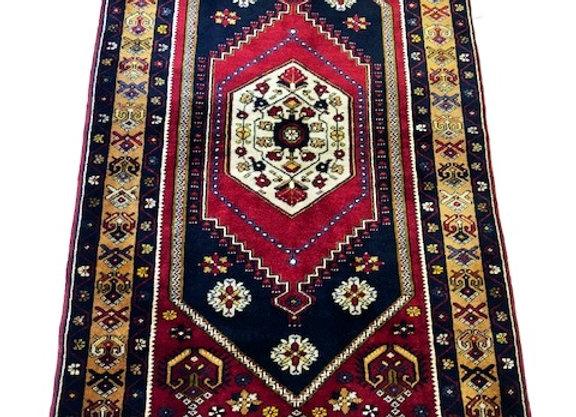Vintage Yahayali Dowry Carpet