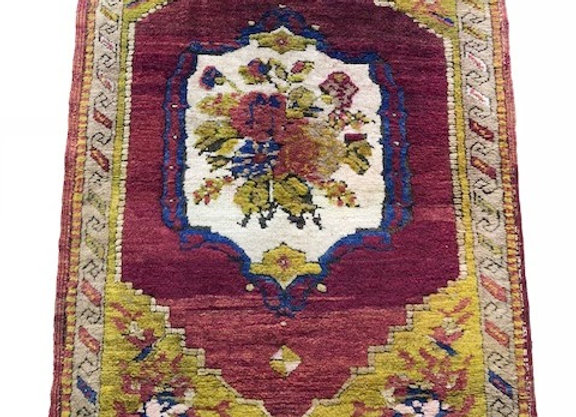 Vintage Yesilover Dowry Rug