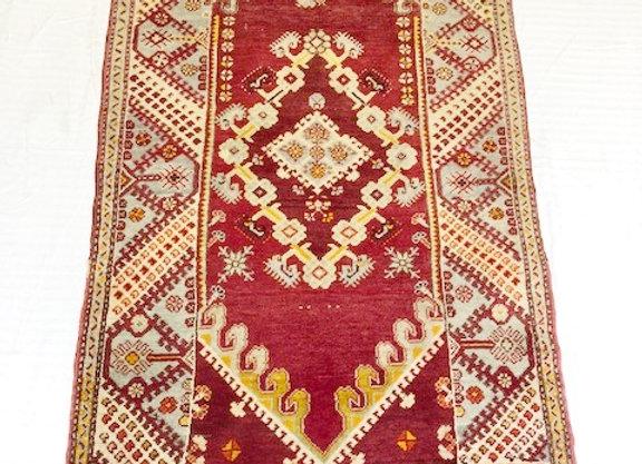 Vintage Anatolian Dazkiri Carpet