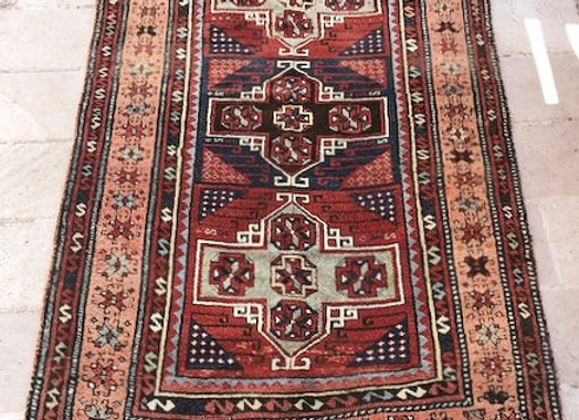 Vintage Tribal Kurdish Rug            Turkey