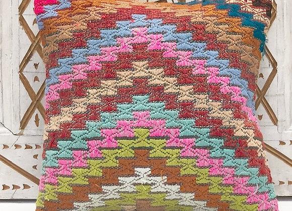 Vintage Kilim Pillow Cover - So Boho  40cm x 40cm