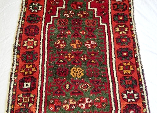 Kurdish Nomadic Prayer Rug - Turkey