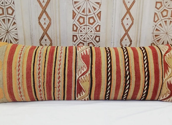 Vintage Turkish Boho Pillow                                  Long Lumber 90x30cm