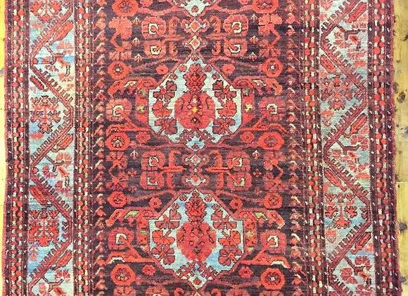 Vintage Turkish Kömürcü Kula Carpet